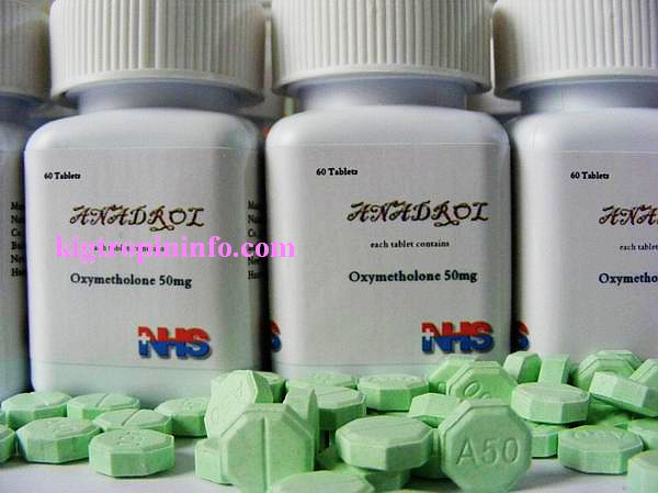 Anadrol 50mg 5 bottle